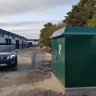 ELECTRICAL CONNECTION TO A NEW BUSINESS PARK IN BEDFORD
