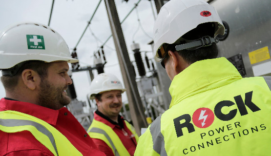 Rock Power Connections prides itself at being able to deliver quality electricity connections to every customer or utility consultant, in any weather - throughout the year.