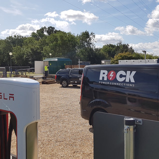 NEW CONNECTION TO SUPPLY ELECTRIC VEHICLE (EV) CHARGERS AT READING HOTEL
