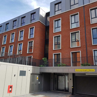 ELECTRICAL CONNECTION FOR A NEW APARTMENT BLOCK