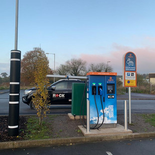 AN EV CHARGER ON THE ENGENIE NETWORK AT THE WAGTAIL PUB