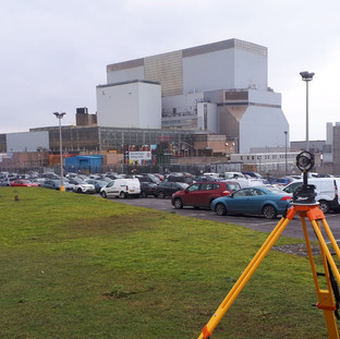 TOPOGRAPHICAL SURVEY OF HINCKLEY POINT B POWER STATION