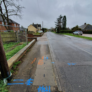 UTILITY DETECTION AND TOPOGRAPHICAL STUDY IN MEPPERSHALL