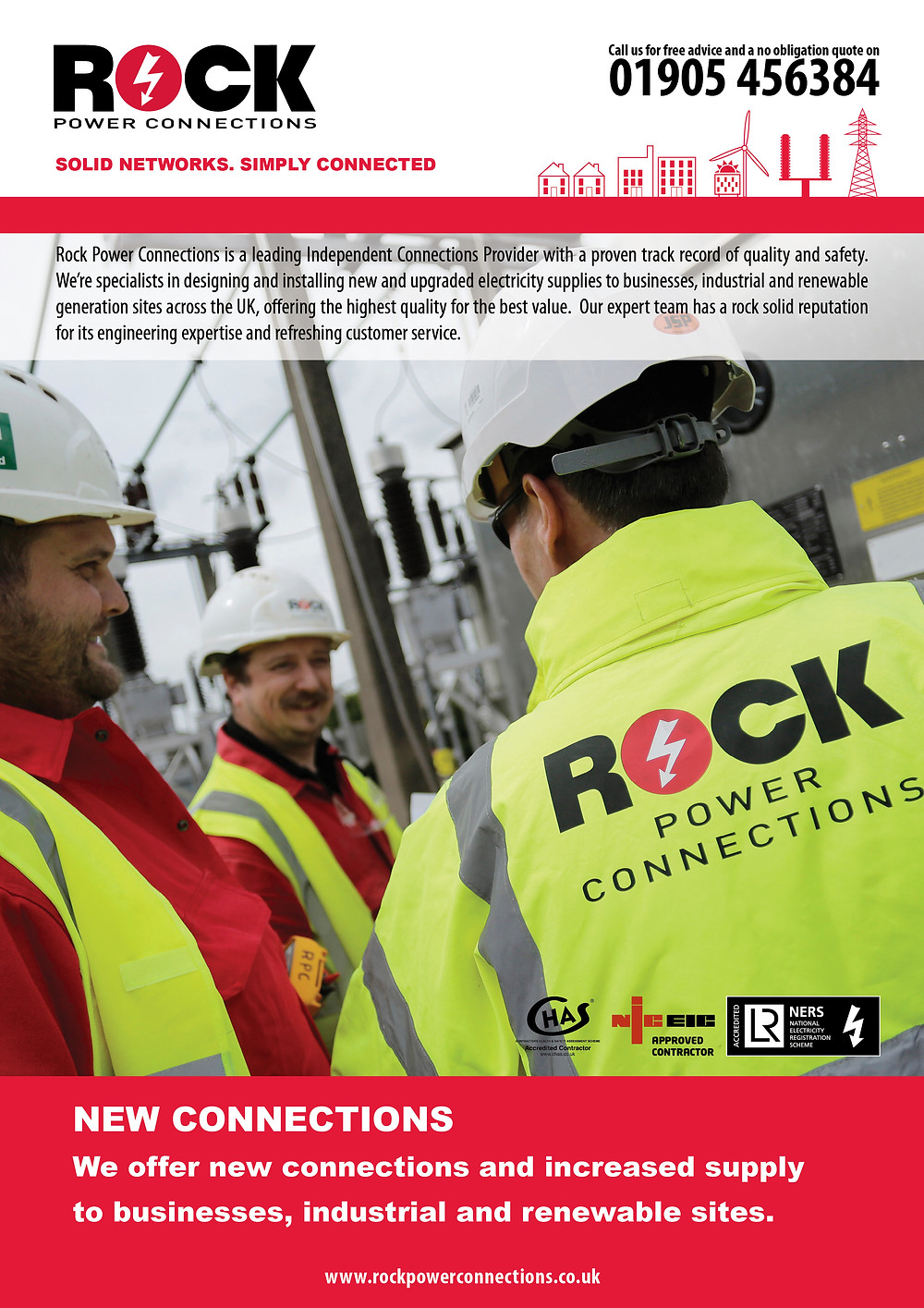 Whether it's an industrial site that needs an upgraded supply or an ambitious plan for a renewables generation project - Rock Power Connections has put together a helpful guide that makes sense of the electricity connection process, in a simple and easy to understand factsheet.
