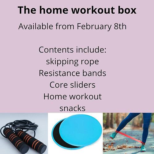The homeworkout box