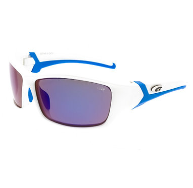 E257 4P WHITE/BLUE-GOGGLE