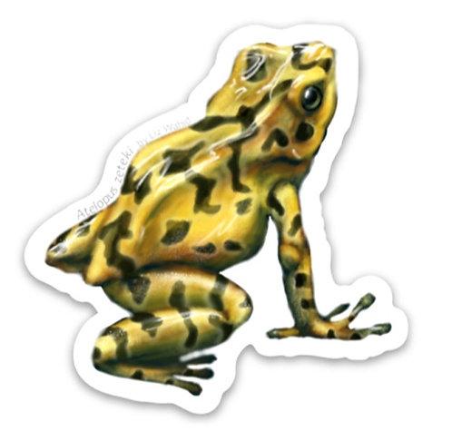 Panamanian Golden Frog Sticker