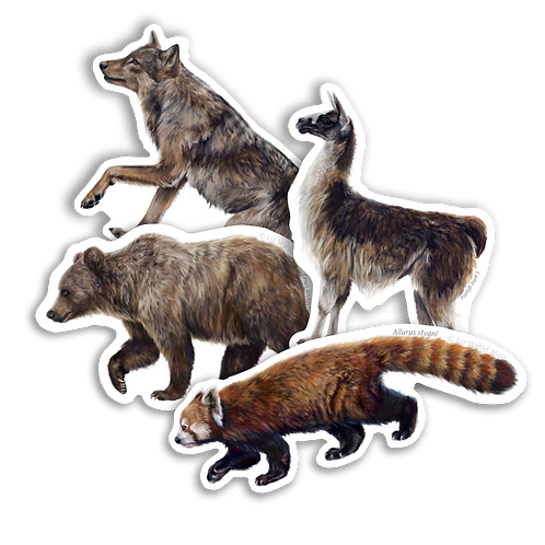 Mammal Sticker Pack