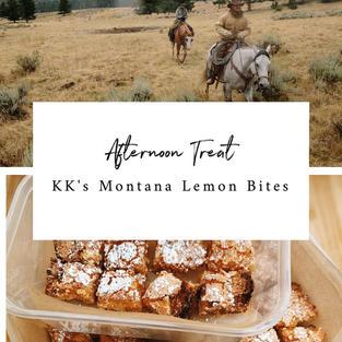 KK's Montana Lemon Bites