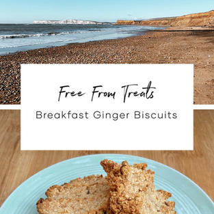 Breakfast Ginger Biscuits