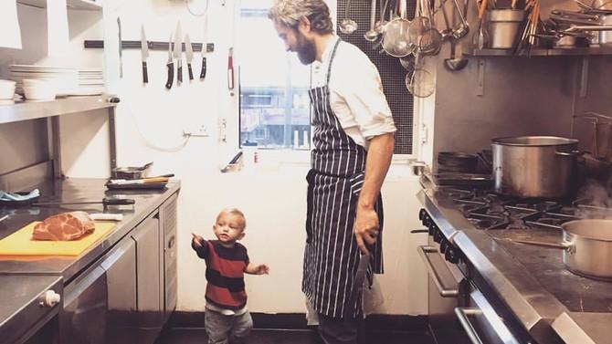 Uffa in the Kitchen