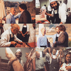 Jay Rayner & Andy Gustar (our butcher & mentor)