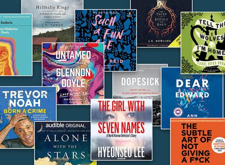 20 books in 2020