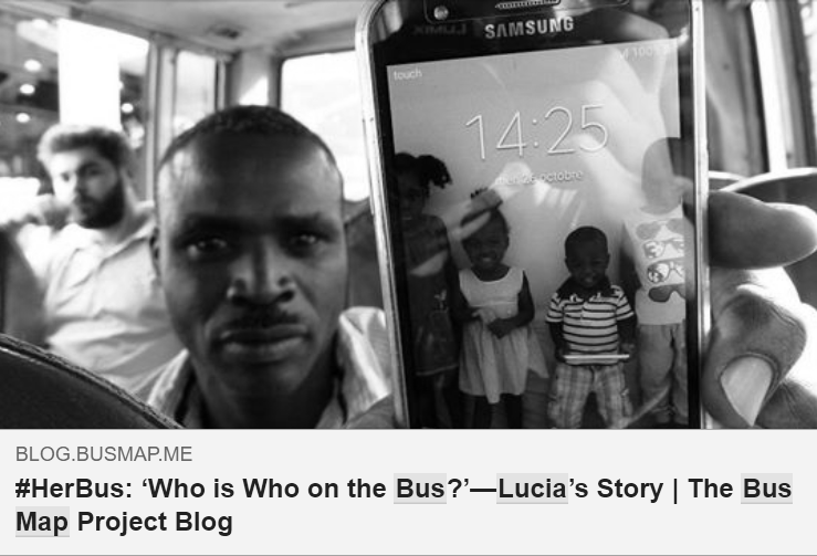 WHO IS WHO ON THE BUS?