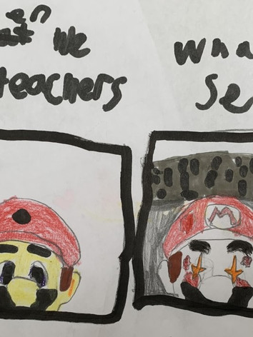 What Teachers See VS What We See Dwaine Thompson