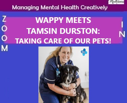 WAPPY MEETS TAMSIN DURSTON: TAKING CARE OF OUR PETS!