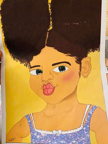 Live Life in the Lockdown Baby Girl, Effie Quansah-George