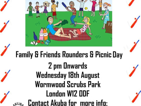 Family & Friends Rounders, Mini-Games & Picnic Day