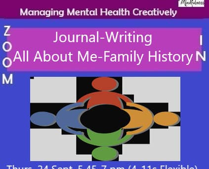 Journal Writing, All About Me & My Family Tree