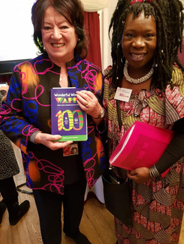 Baroness Eaton, DBL DD with a copy of WW