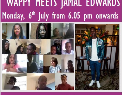 WAPPY interviews SB.TV Founder & Entrepreneur, Jamal Edwards for Ealing's Community Speaks Event!