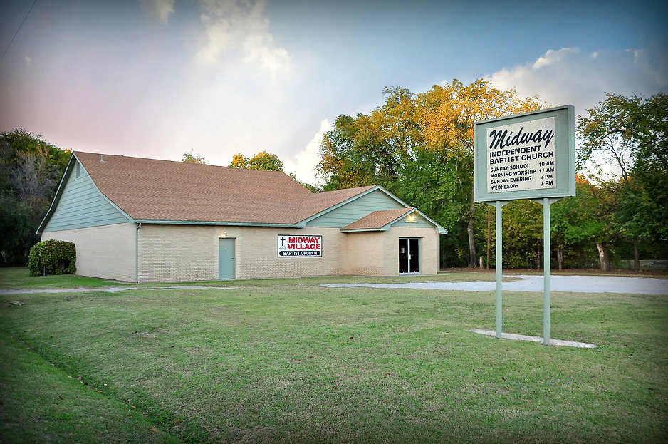 Del City, the Frist Baptist Church of Midway Village | AKA, Midway Baptist Church