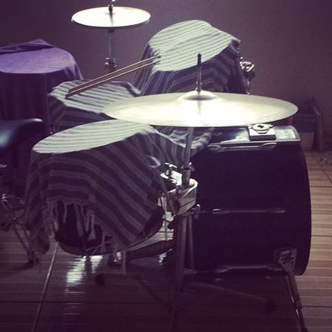 Up n at um. #drums #drumming.jpg