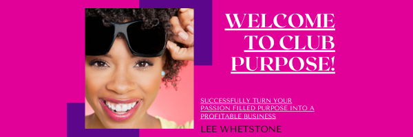 African American woman, small business, purpose