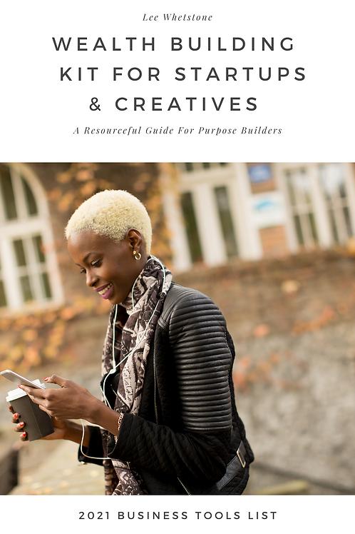 Wealth Building Kit for Startups & Creatives