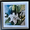 Thumbnail: Lily's  - Signed & Framed Limited Edition Print 20x20cm