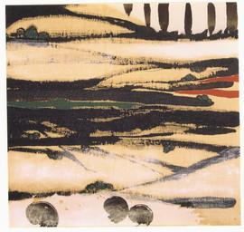 1991 47x50 collage sur toile 1991