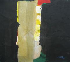 2011 46x51 acrylic on korean paper, 2011