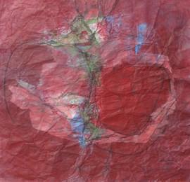 2011 74x71cm, acrylic on korean paper, 2011