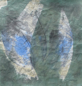 2011 71x74cm, acrylic on korean paper, 2011