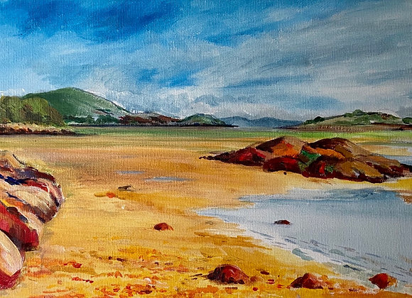 Rough Firth  acrylic on canvas