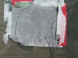 2012 30.5x40, Papier collage, 2012