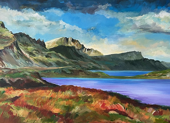 View from Sconser - Isle of Skye Framed A2 Glicee print