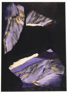 1992 46x33 collage sur toile 1992