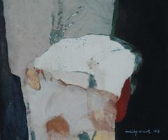 2007 25x30cm, acrylic on korean paper 2007