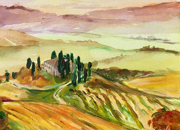 Tuscany - Signed & Framed Limited Edition Print