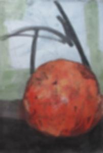 2012 101x148, acrylic on korean paper, 2