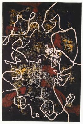 1990 92x60 Pigments sur toile fil 1990