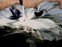 2004 132x102 collage,decollage,acrylic on korean paper, 2004