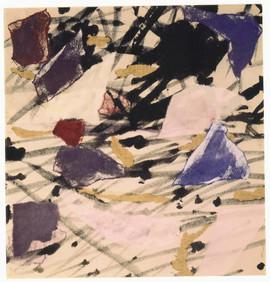 1991 38x40 collage sur toile 1991
