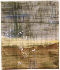 1989 88x105 acrylic on korean paper 1989