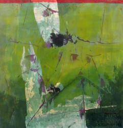 2011 Un Moment Donne I, 71.5x75cm, acrylic on korean paper, 2011