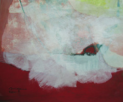 2011 31x37cm Acrylic on  Korean paper, 2011