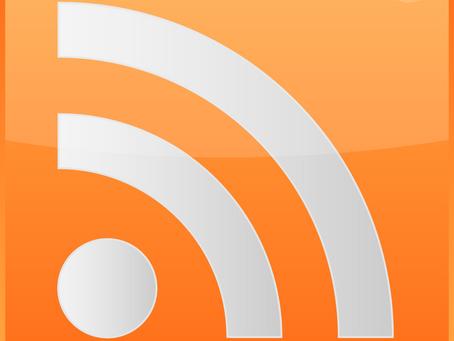 Nouveauté: flux RSS sur le blog
