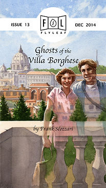 Ghosts of the Villa Borghese by Frank Scozzari Flyleaf Literary Journal Chicago Issue #13