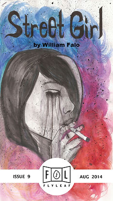 Street Girl by William Falo Flyleaf Literary Journal Chicago Issue #9